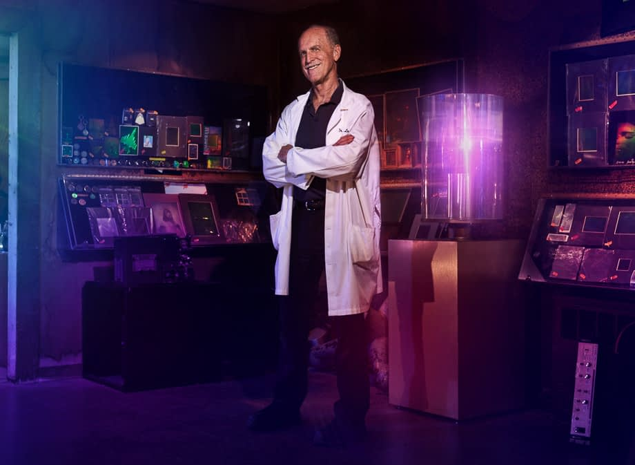 Dr. Laser at Holographic Studios in New York